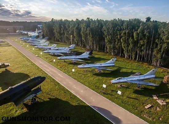 انواع هواپیما جنگی در تلگرام گردشی در بزرگترین موزه هوانوردی جهان