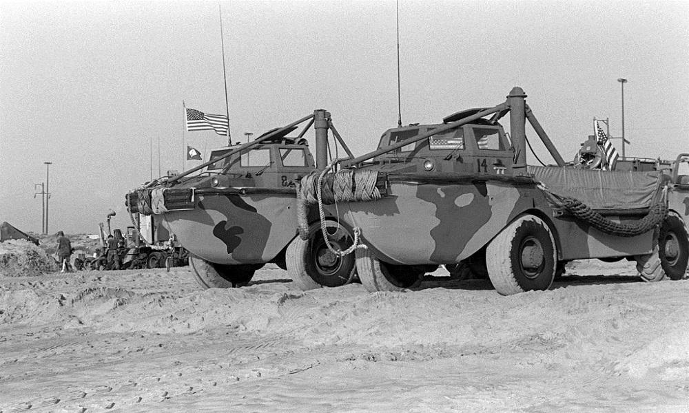 LARC-V؛ قایق چرخ دار ارتش آمریکا!