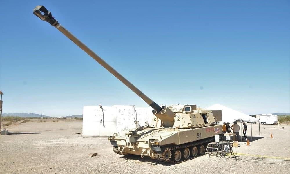 رکورد جدید هویتزر ارتش آمریکا؛ هدف گیری از فاصله 69 کیلومتری